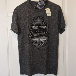 Lucky Brand Triumph Motorcycle T-Shirt